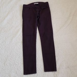 Mavi Serena Skinny purple pants